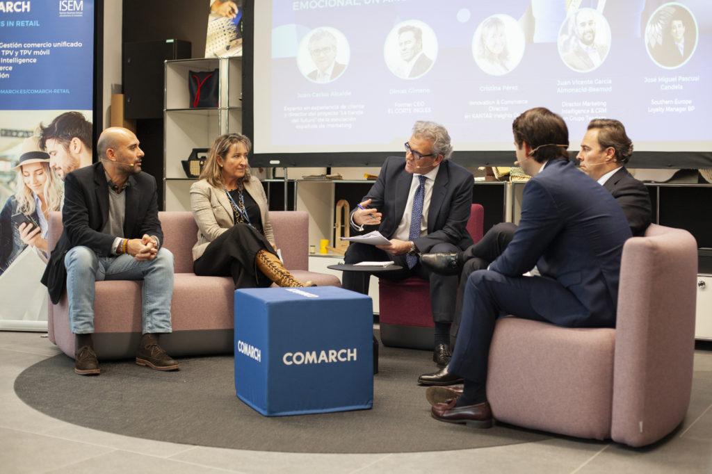 Mesa redonda en el evento Comarch Retail Experience 2019