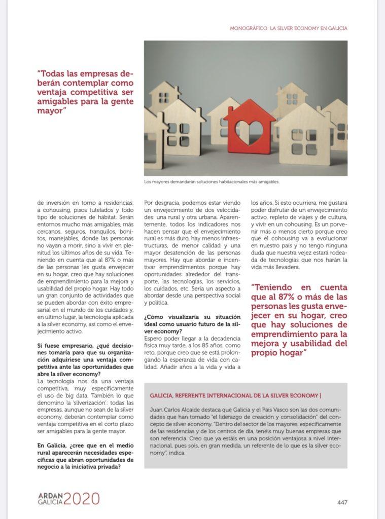 Entrevista JCA Monográfico Silver Economy Galicia 2