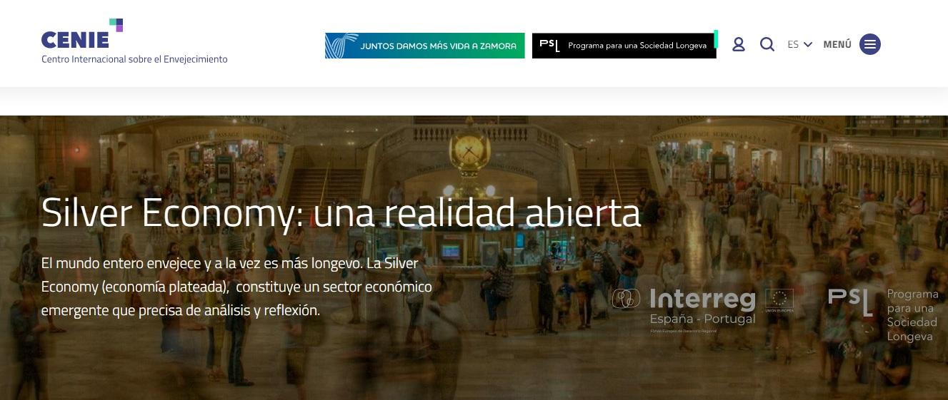 «Silver Economy: una realidad abierta», mi blog en CENIE